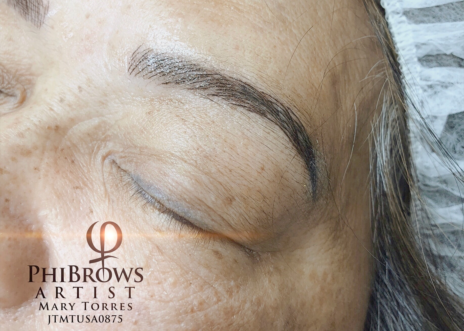 Juanita's Eyebrow Microblading Results