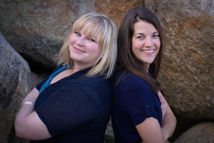 Stephanie Hill and Alicia Hawker