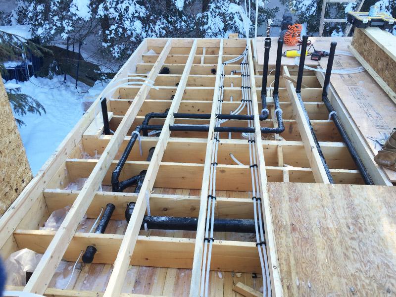 Lee Plumbing Construction Setup