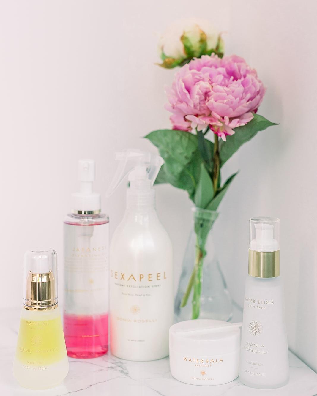 Sonia Roselli's skin care line