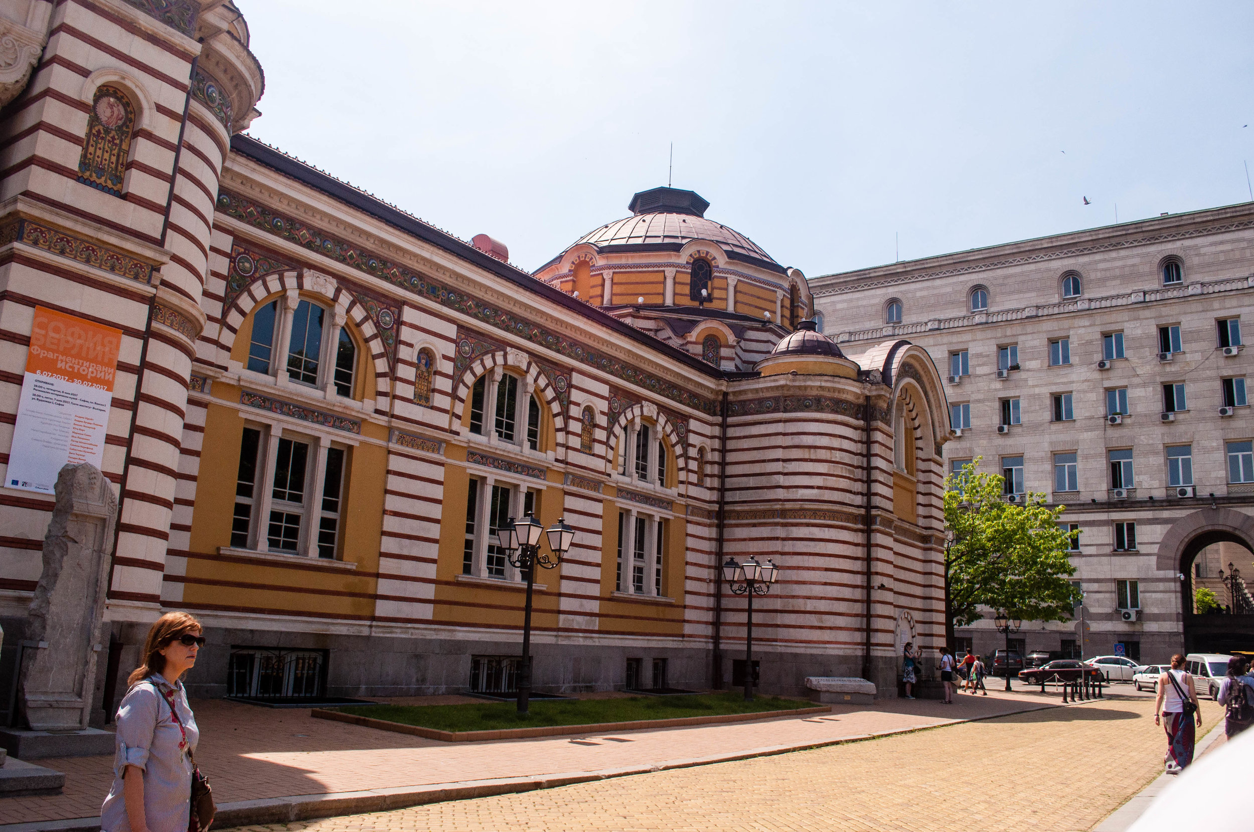 Serdika square buildings, this is one of the must-see in a 2-day itinerary in Sofia (Bulgaria)