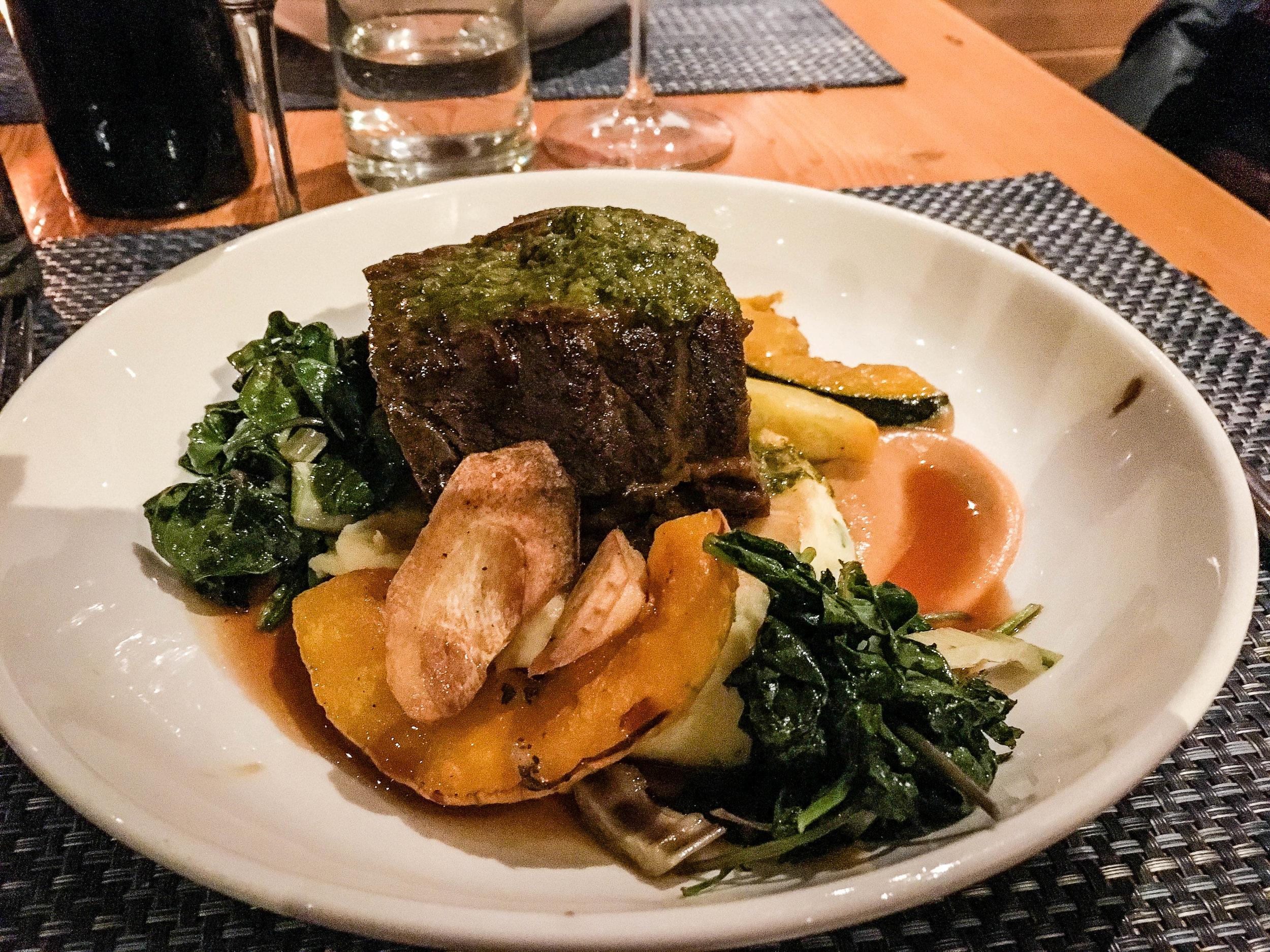 Niagara on the Lake Ravine Restaurant foodie plate