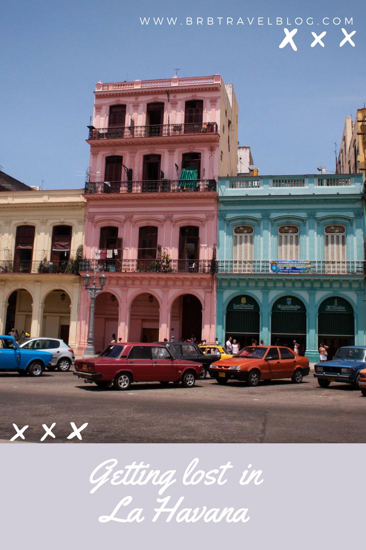 Decaying colonial building in La Havana, Cuba
