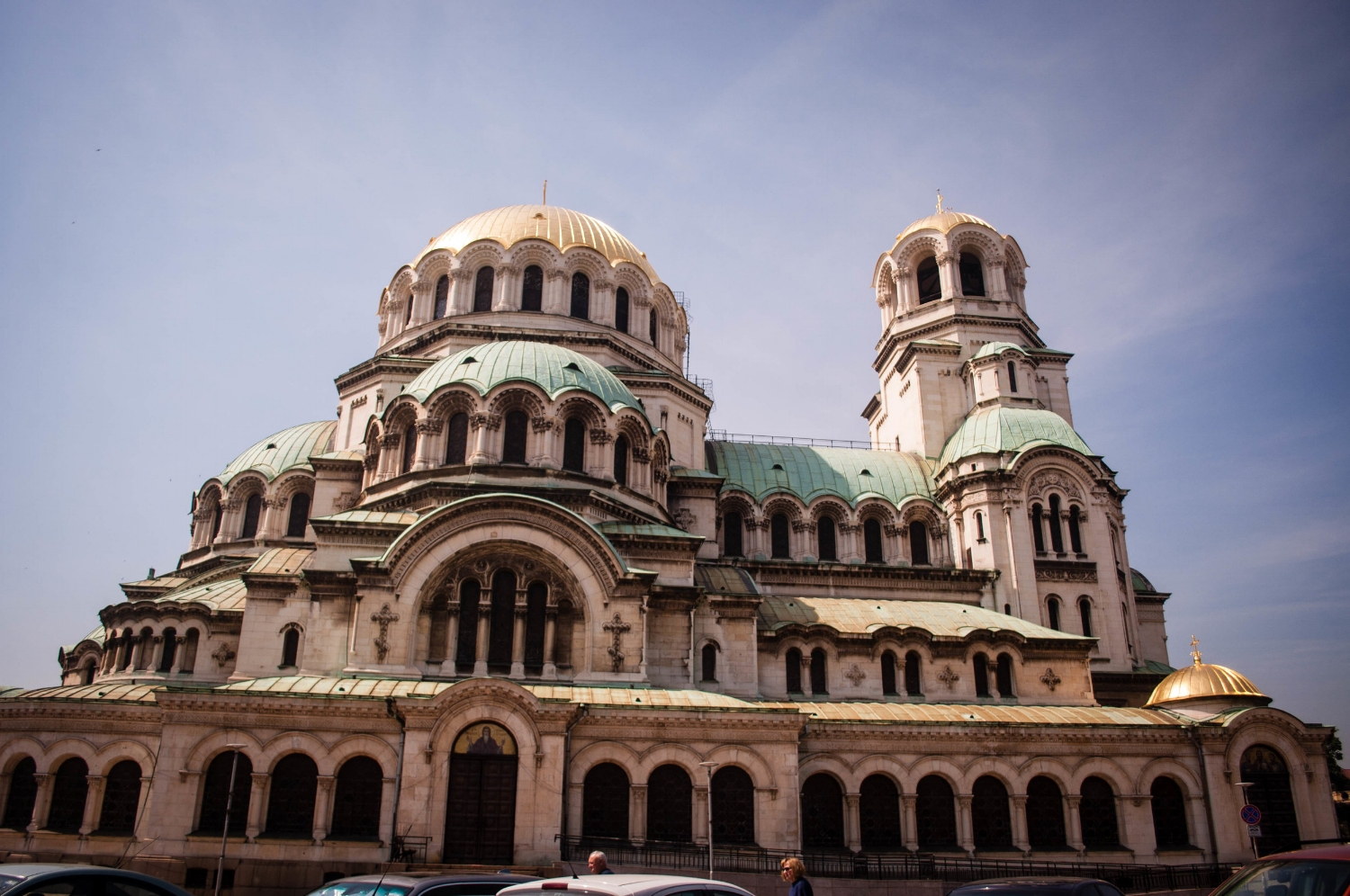 Alexander Nevsky Cathedral in Sofia. Discover itineraries in Bulgaria and in the Europe