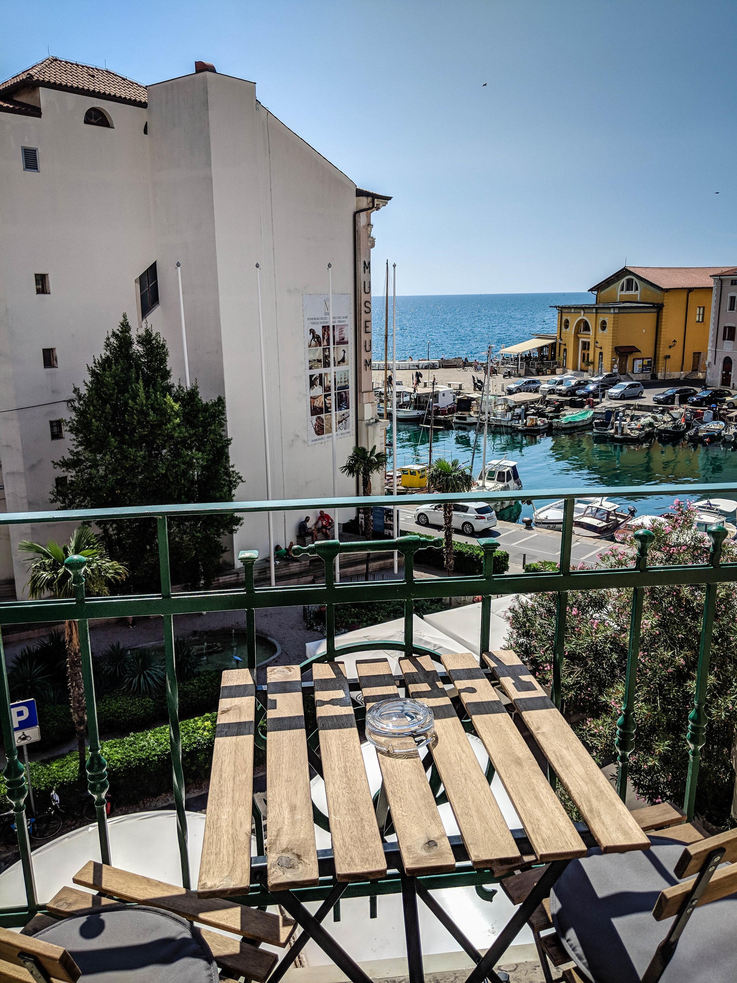 Art Hotel Tartini room seaside view