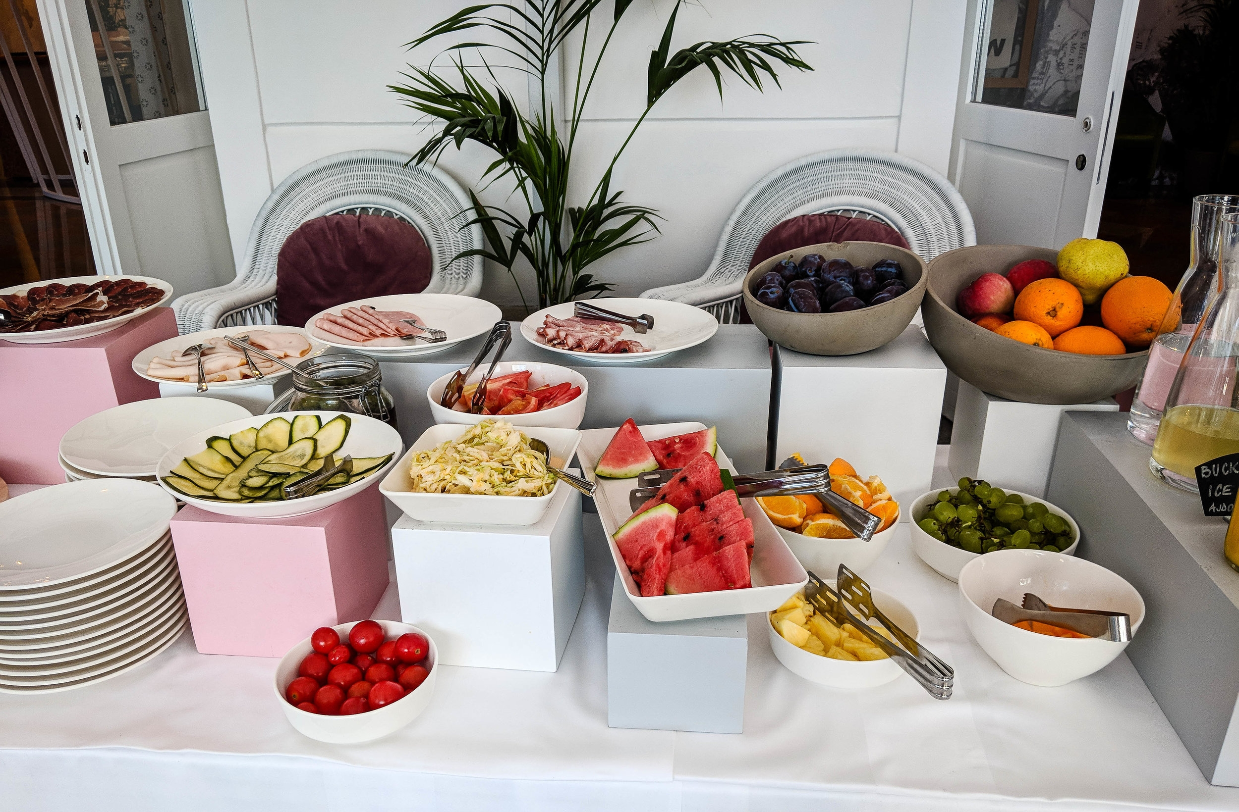 Art Hotel Tartini breakfast