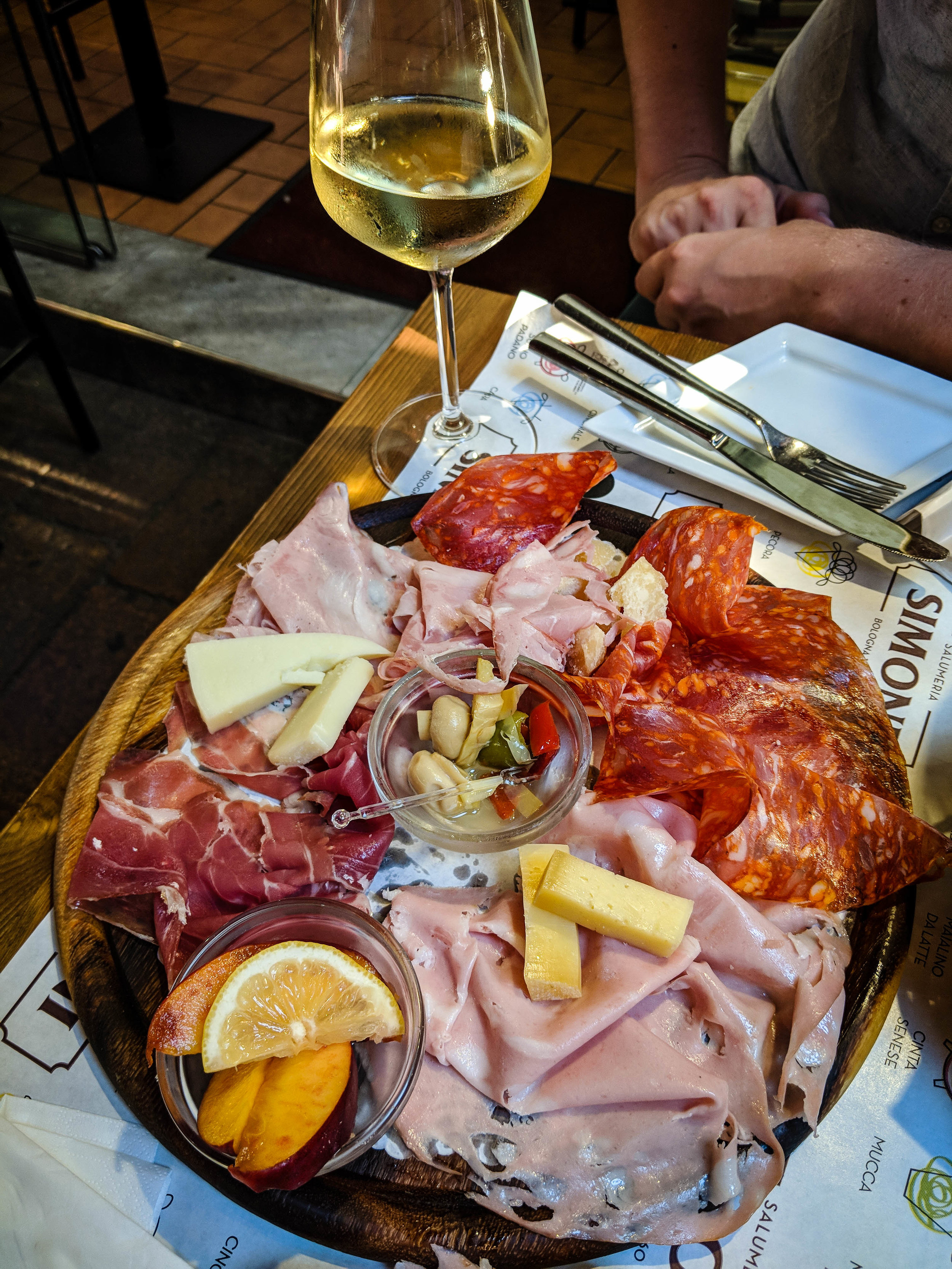 cold cuts, a must eat dish in Bologna