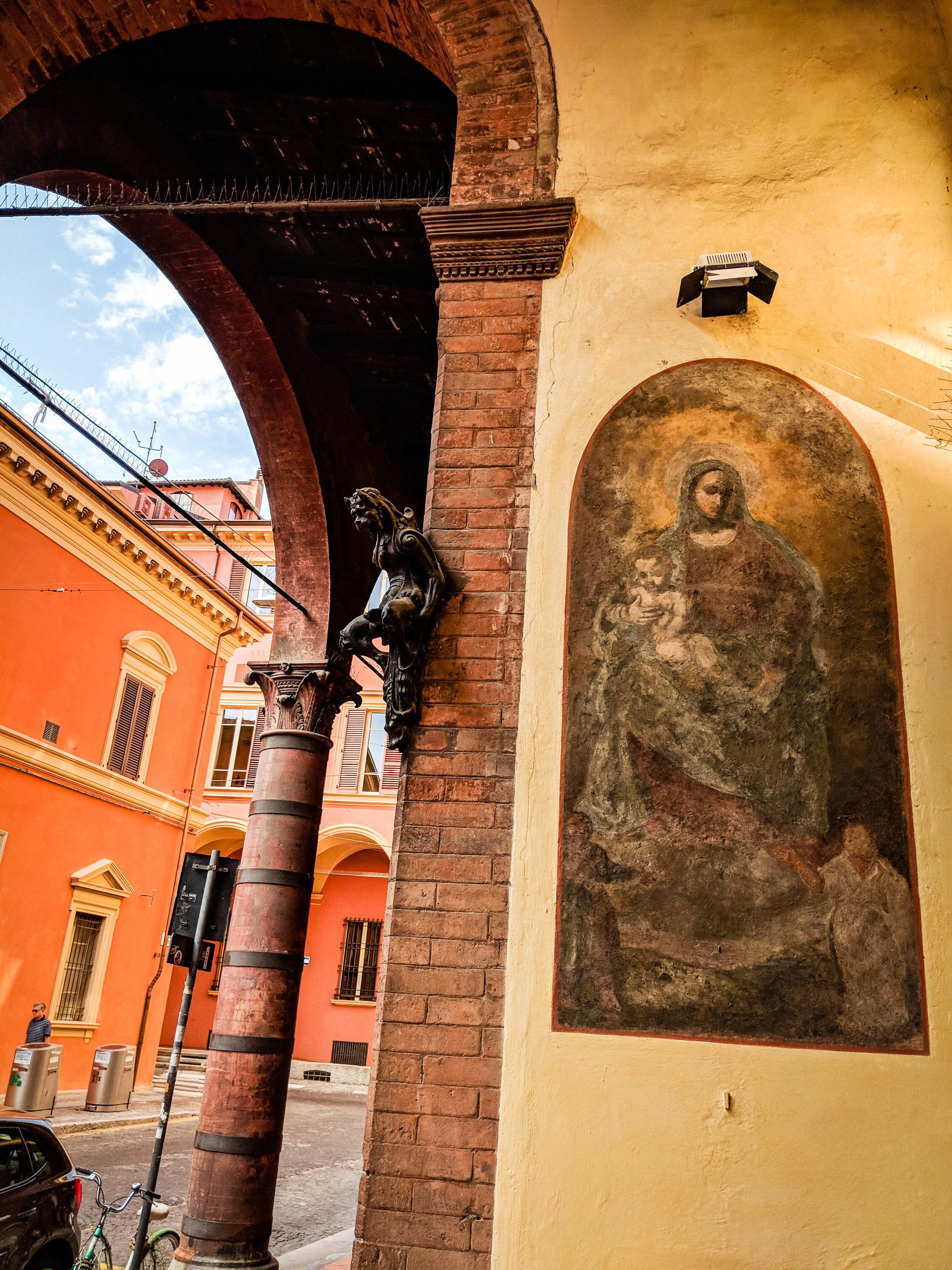 Hidden gems of Bologna, part of the Bologna Itinerary