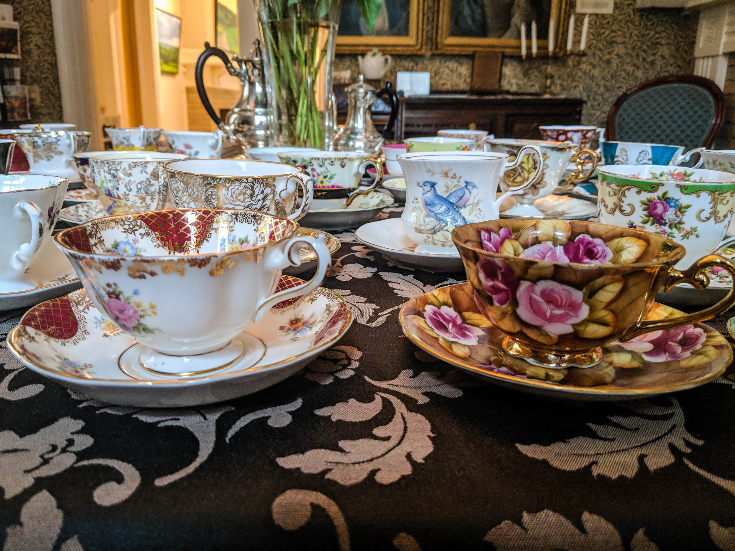 A ride through the English Tea route in Quebec
