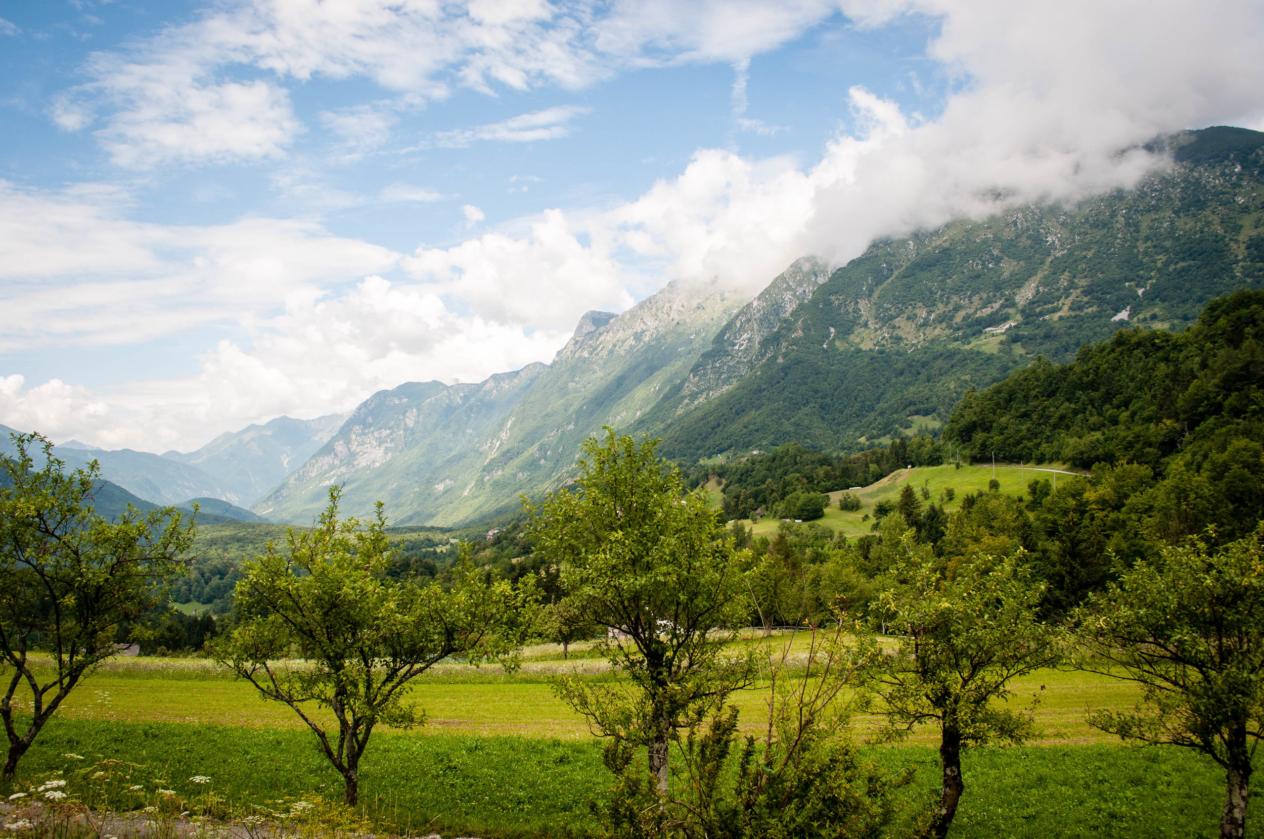Soca valley, part of the itinerary Road trip in Slovenia