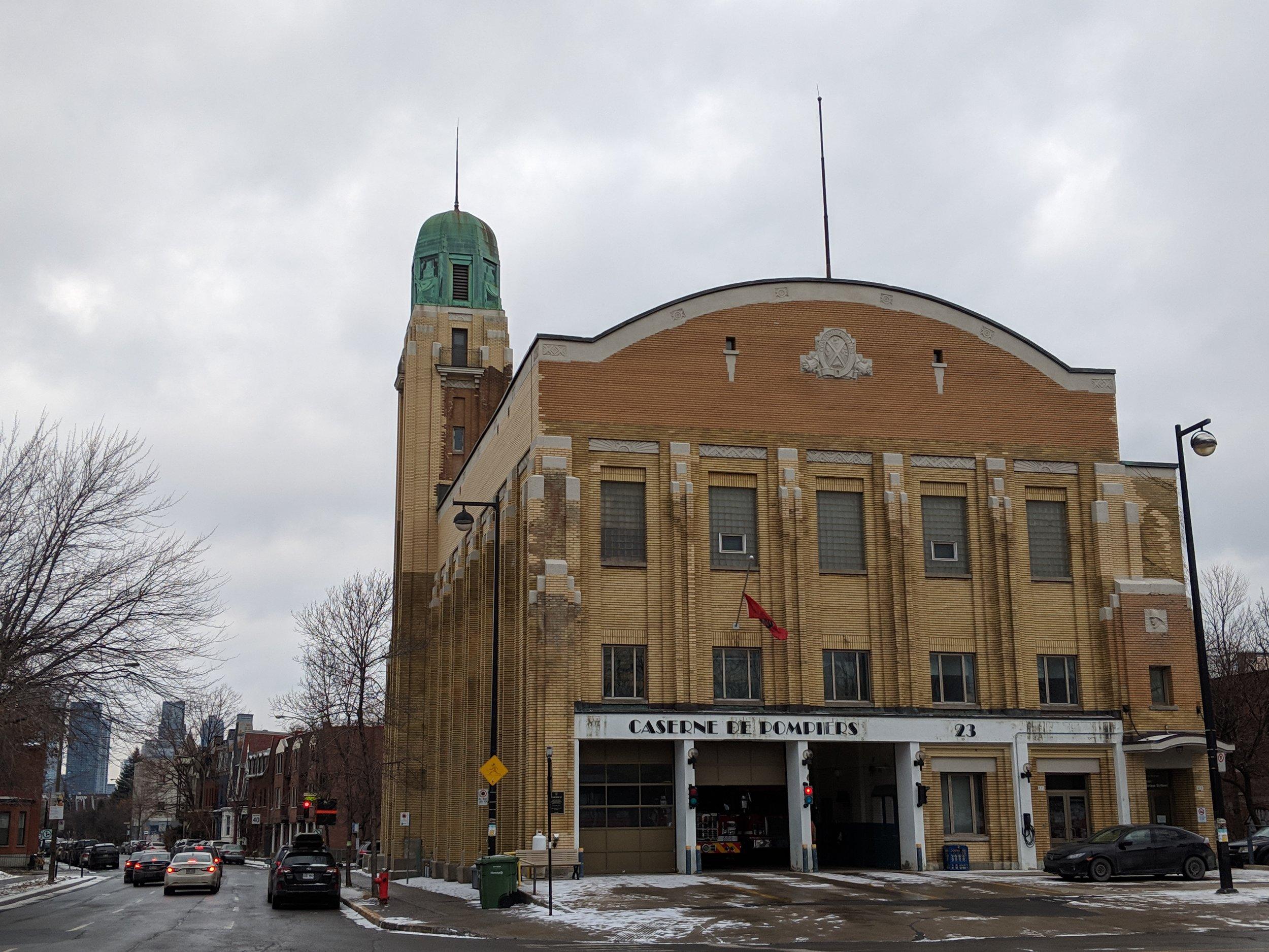 Caserne de Pompiers No.23 . Saint-Henri, a Montreal neighbourhood guide