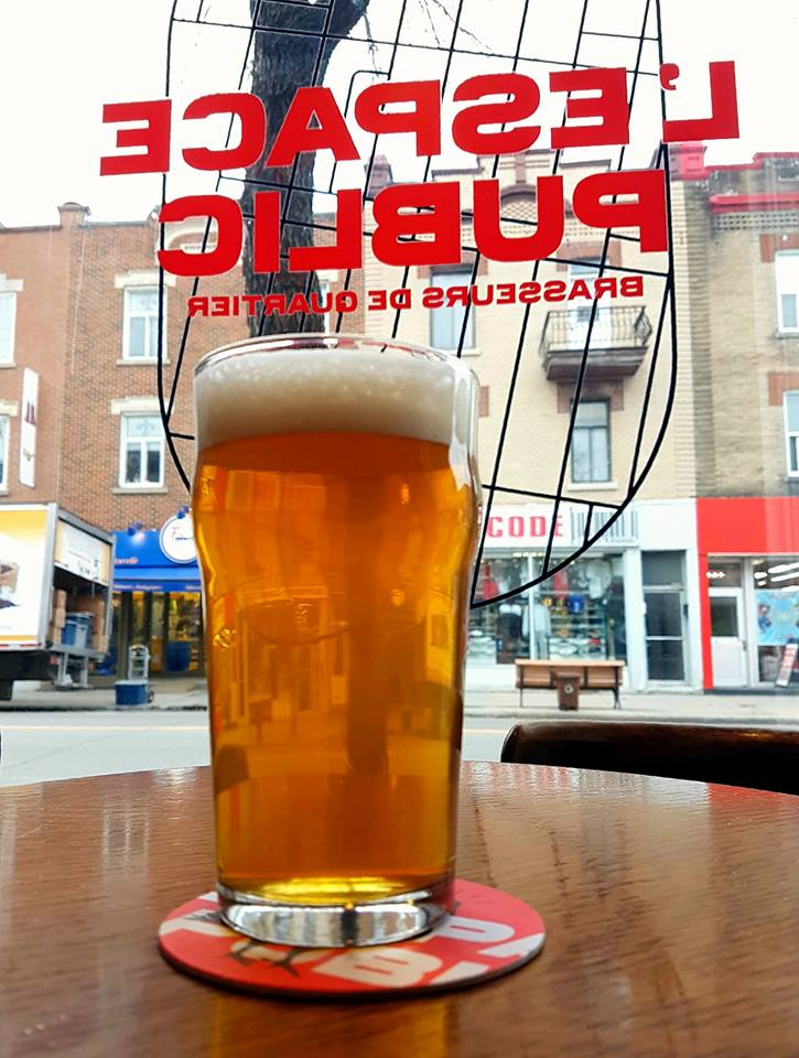 Espace Public. A guide of Montreal breweries