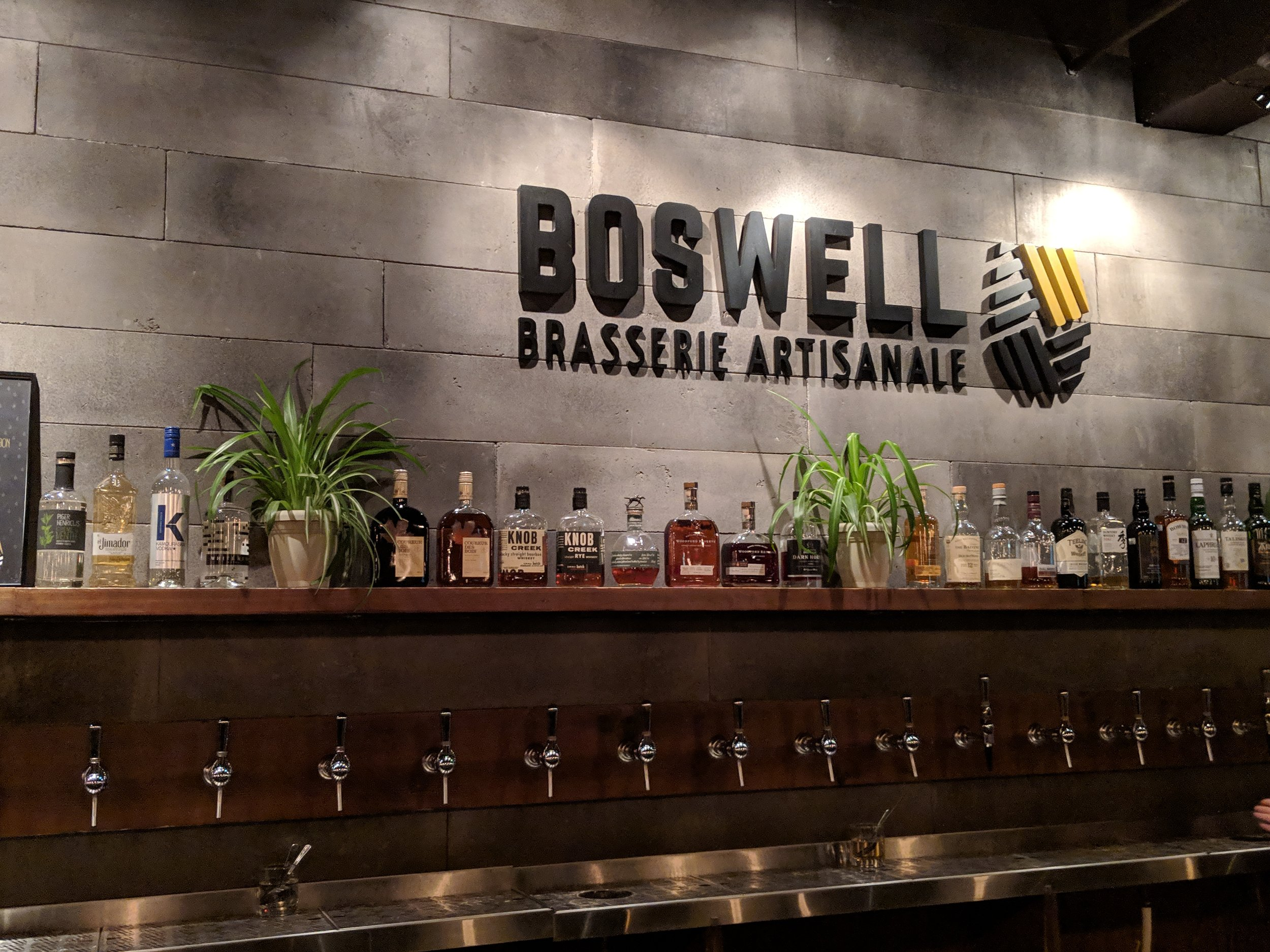 Boswell. A guide of Montreal breweries