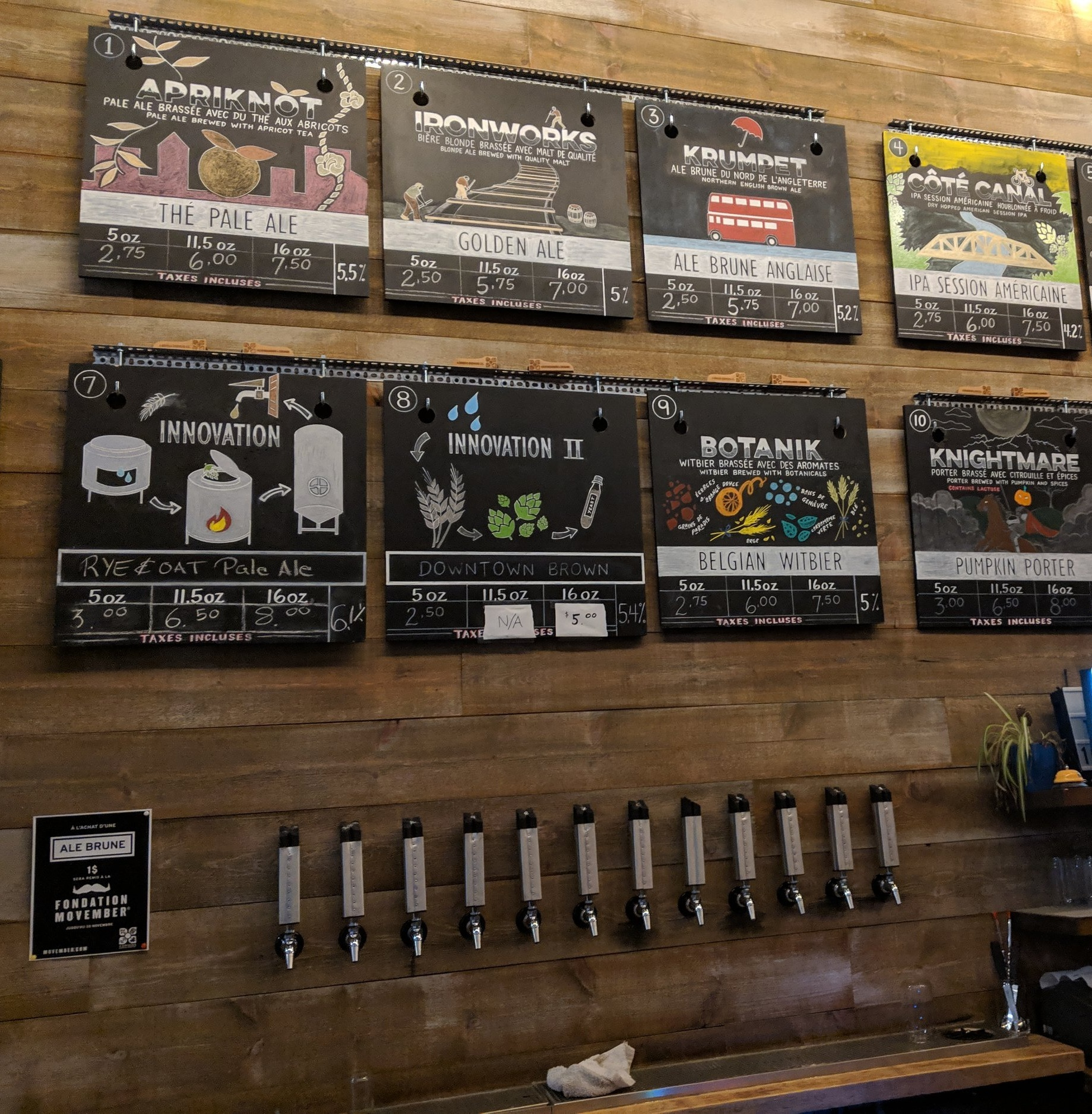 4 origins. A guide of Montreal breweries