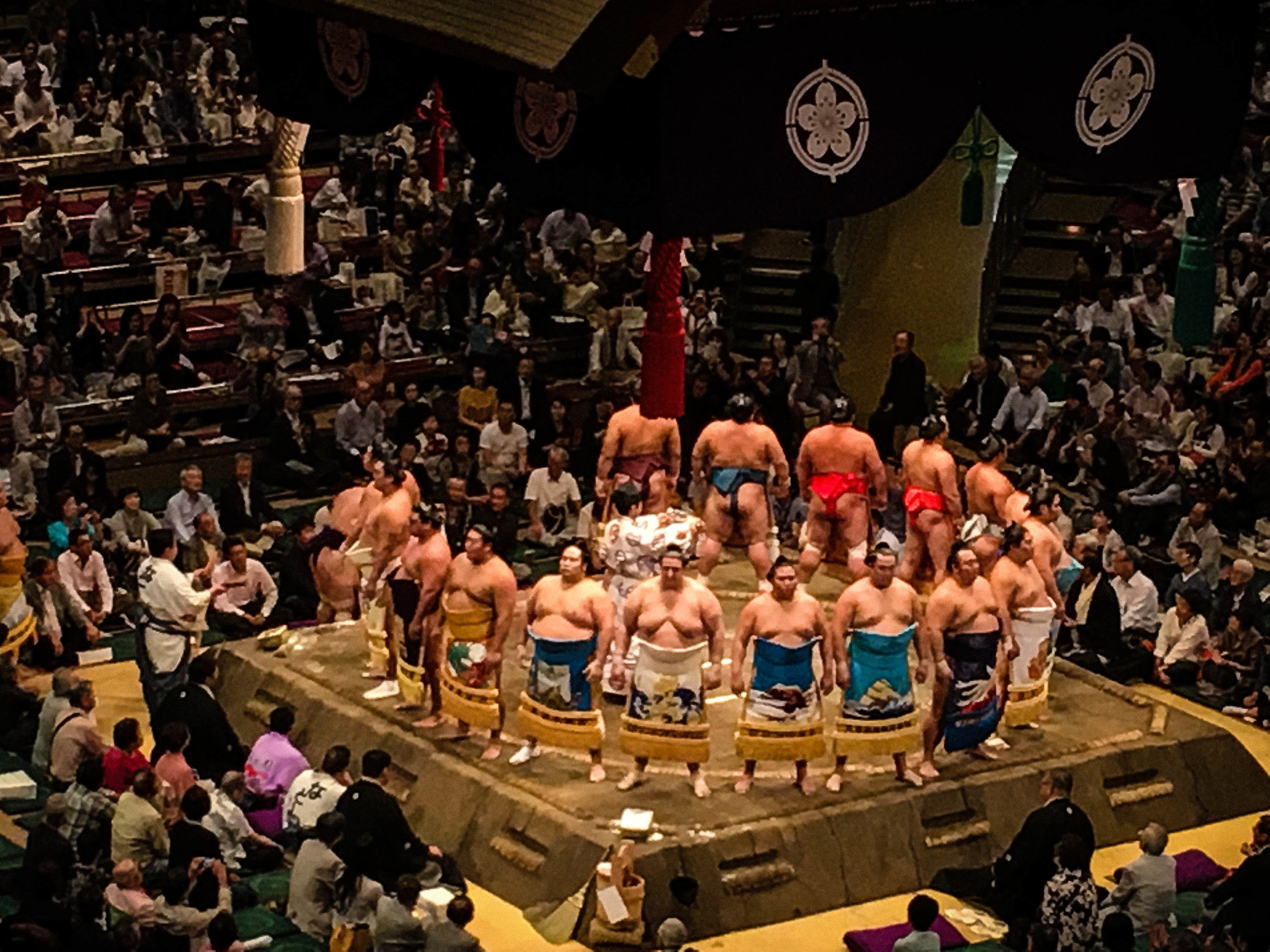Sumo Tournament. Part of Tokyo itinerary 7 days