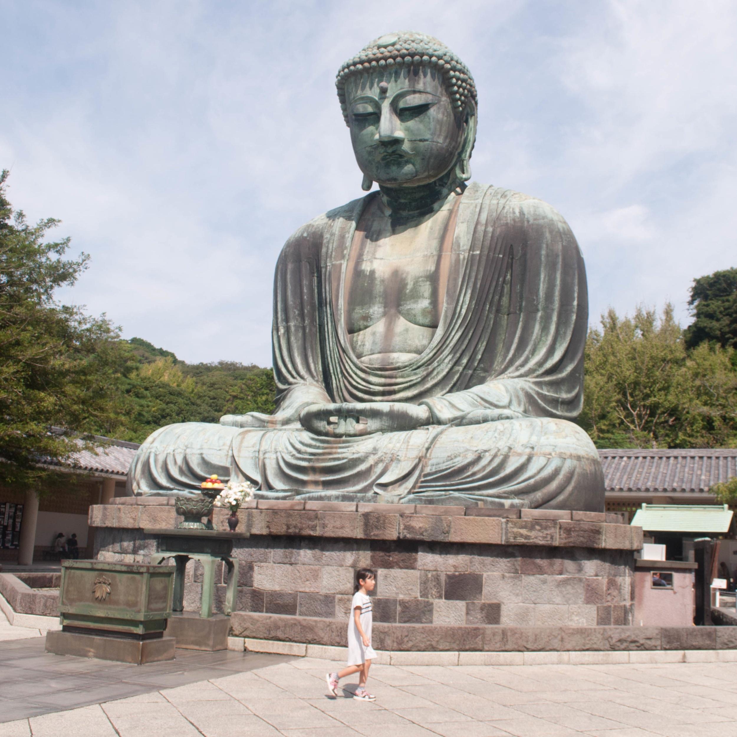 Kamakura Grear Buddha, a day trip from Tokyo. Part of Tokyo itinerary 7 days