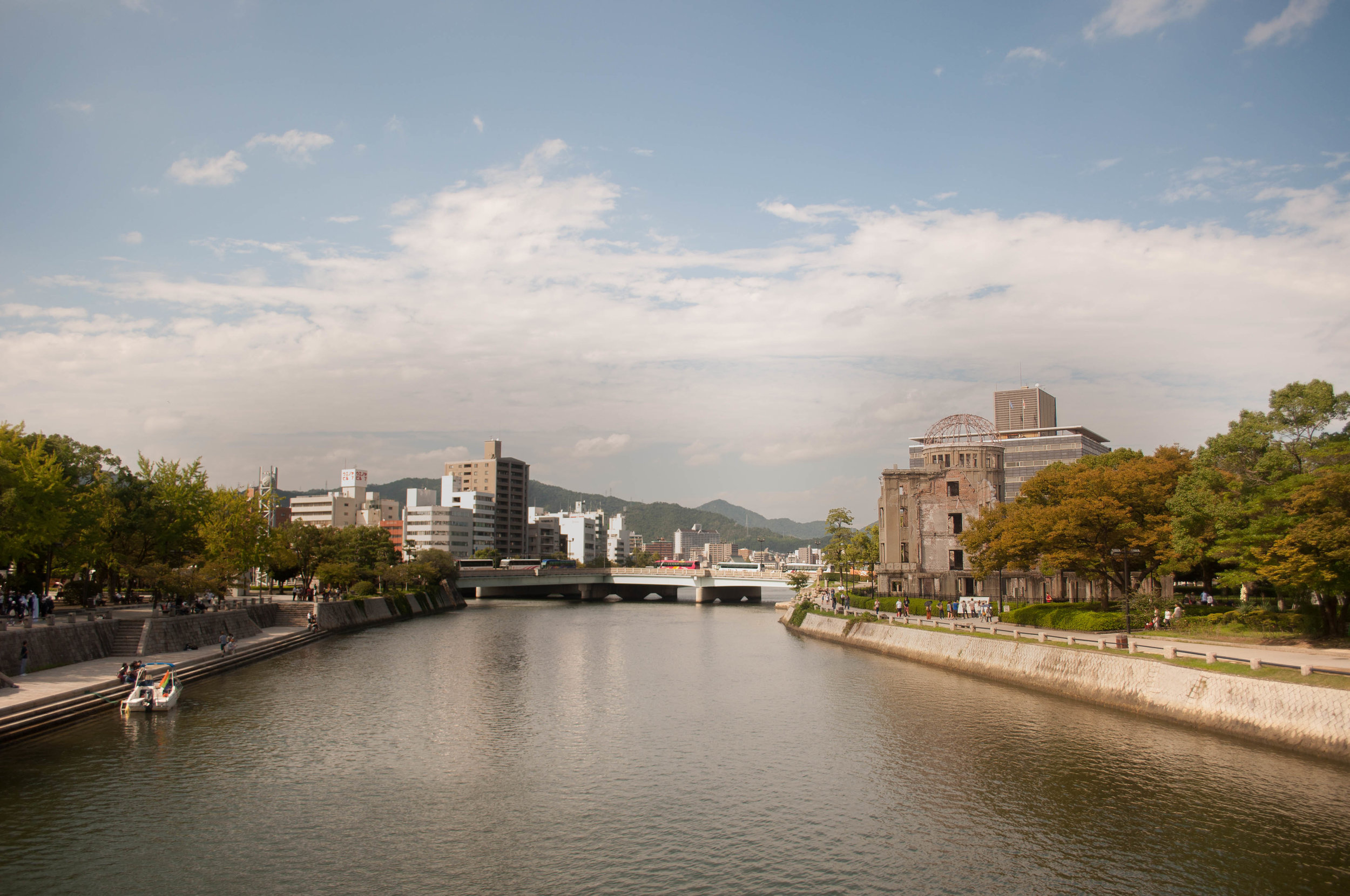 Hiroshima part of the itinerary for couples doing their honeymoon in Japan
