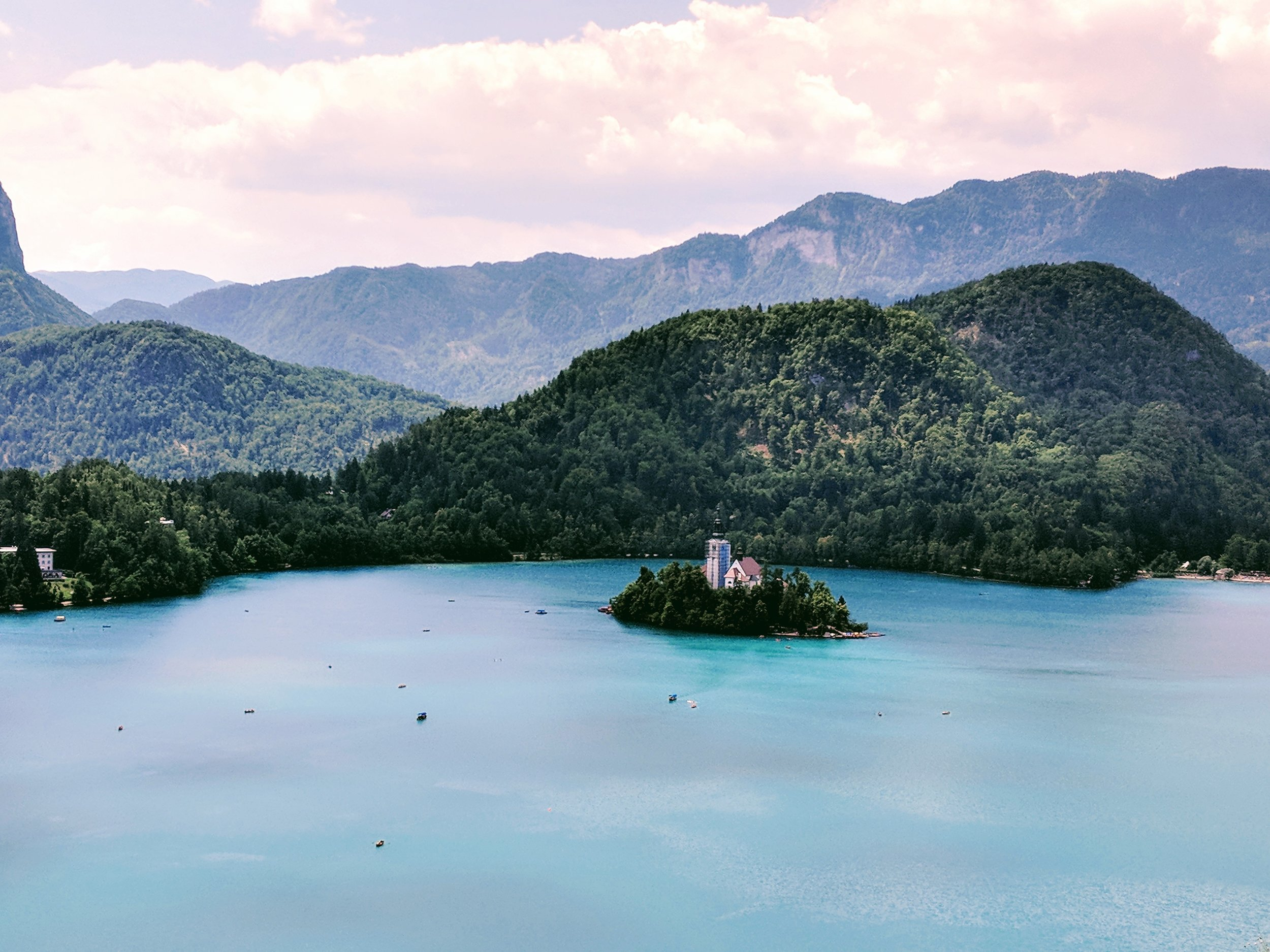View from the top to Lake Bled, Things to do in Lake Bled