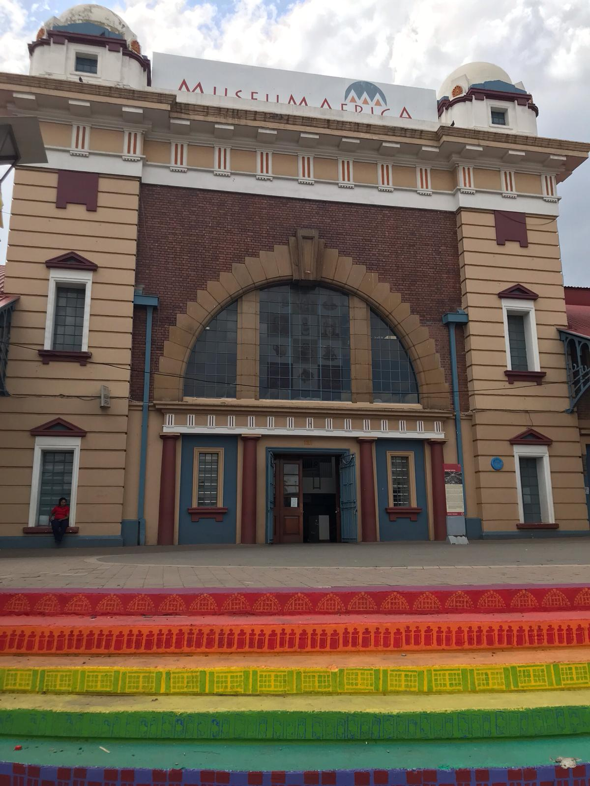 Entrance of the Museum Africa. Johannesburg Itinerary