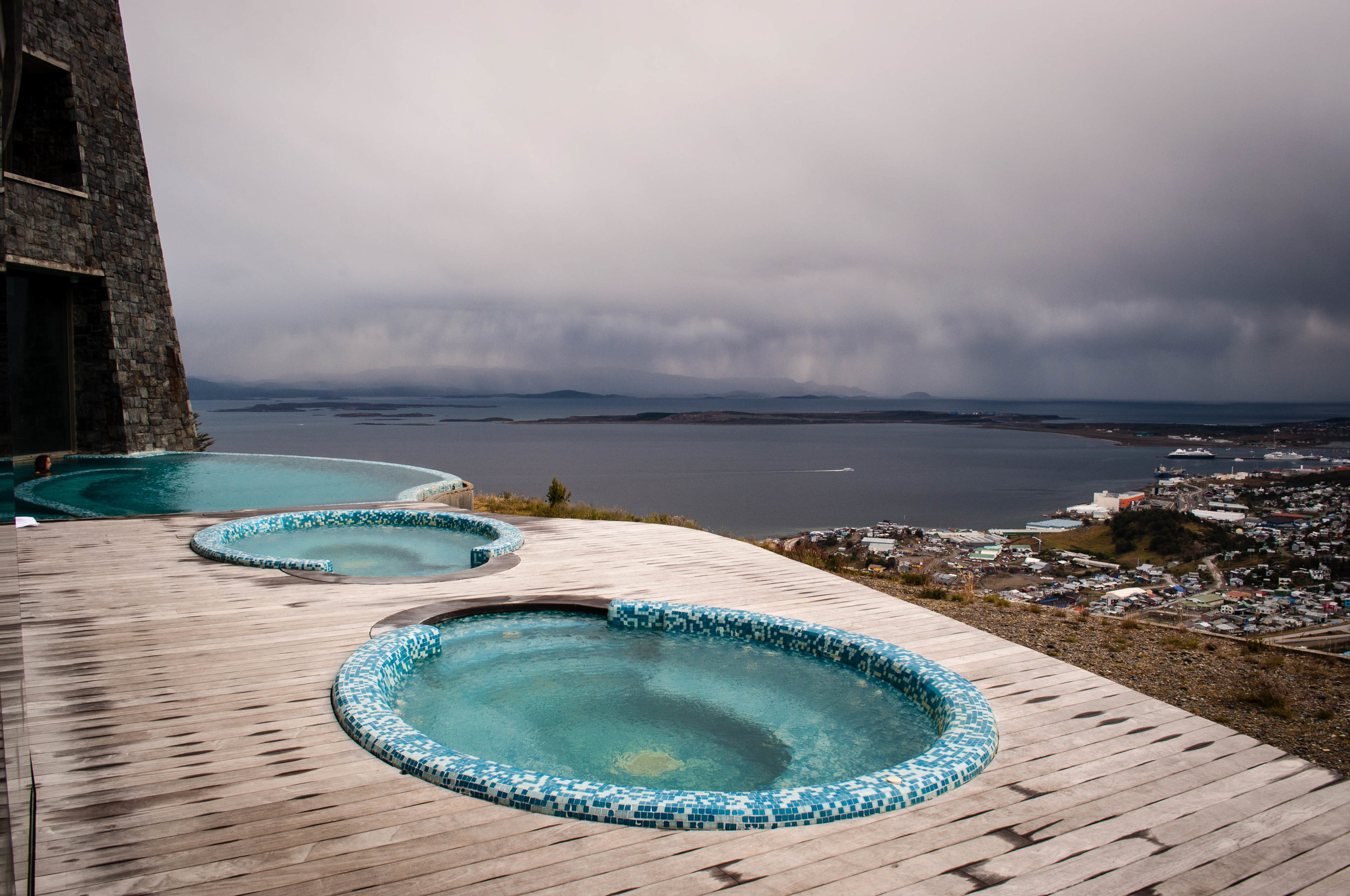 Arakur pools. Best things to do in Ushuaia