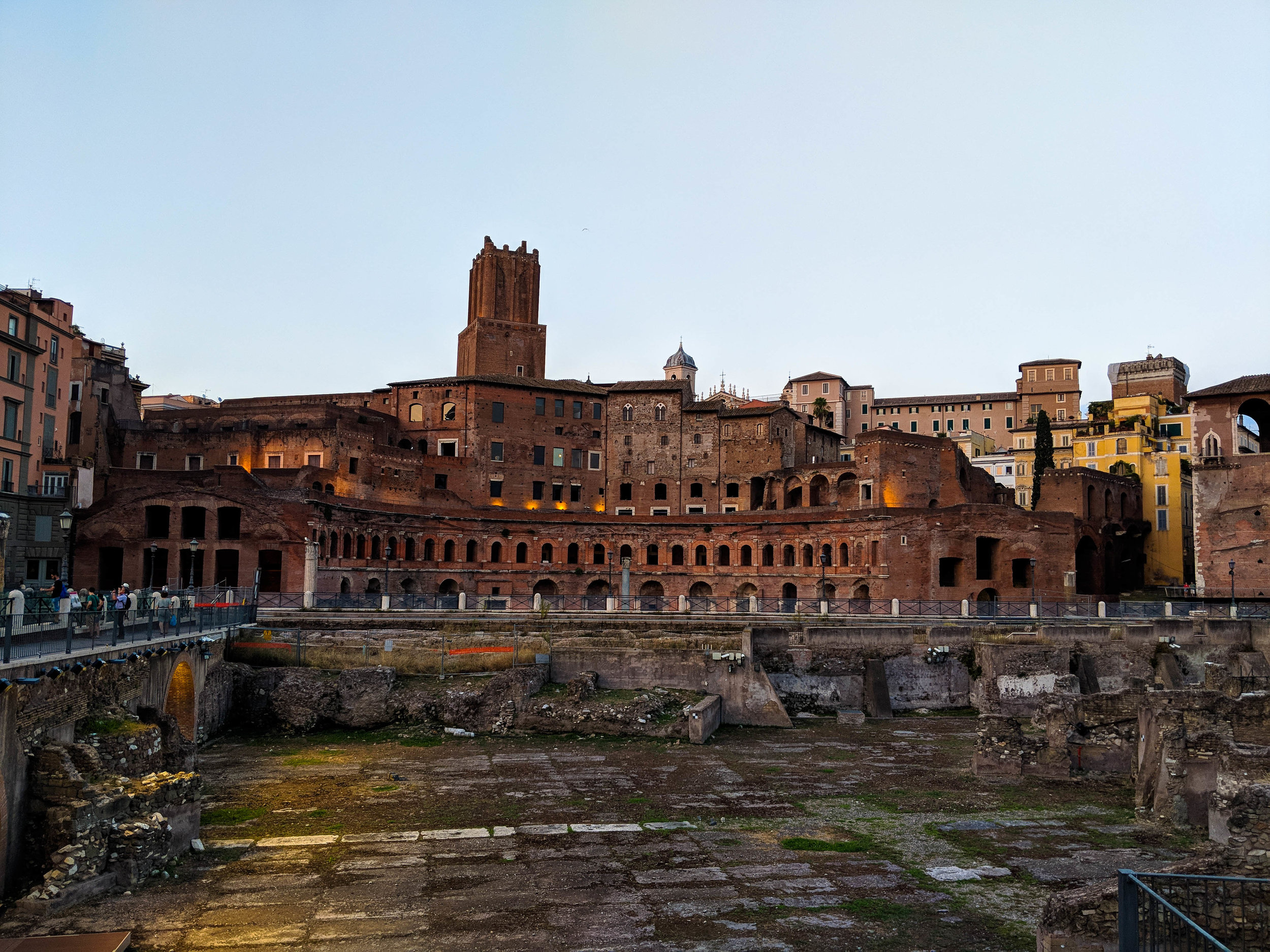 Ancient Rome. One day in Rome