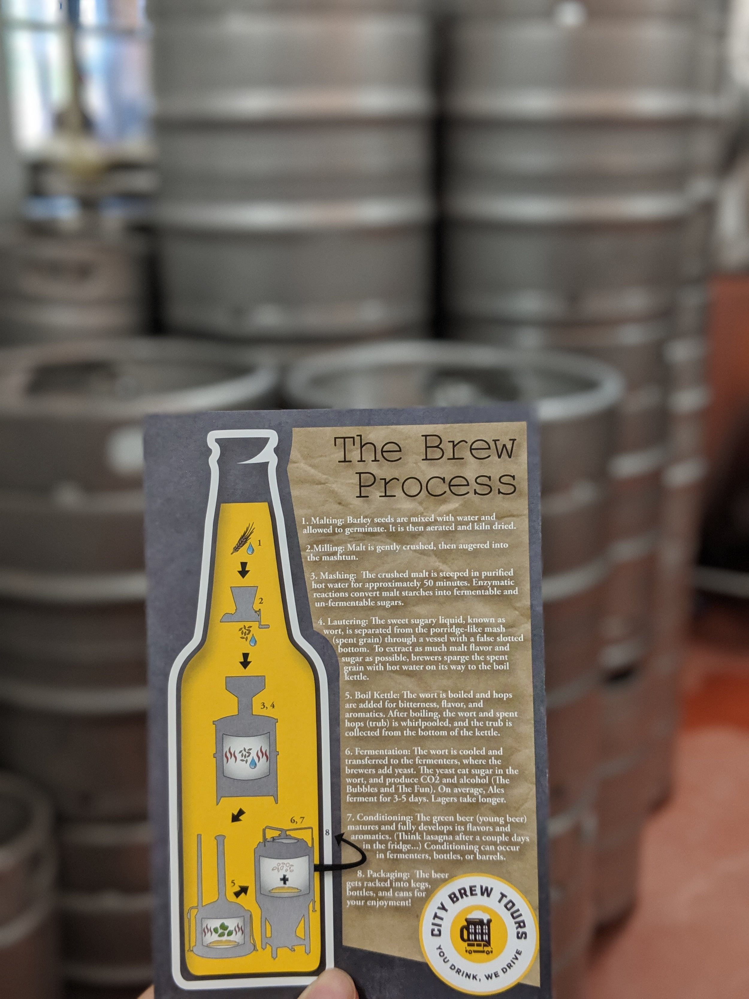 City brew tours' beer making process A guide of Montreal breweries