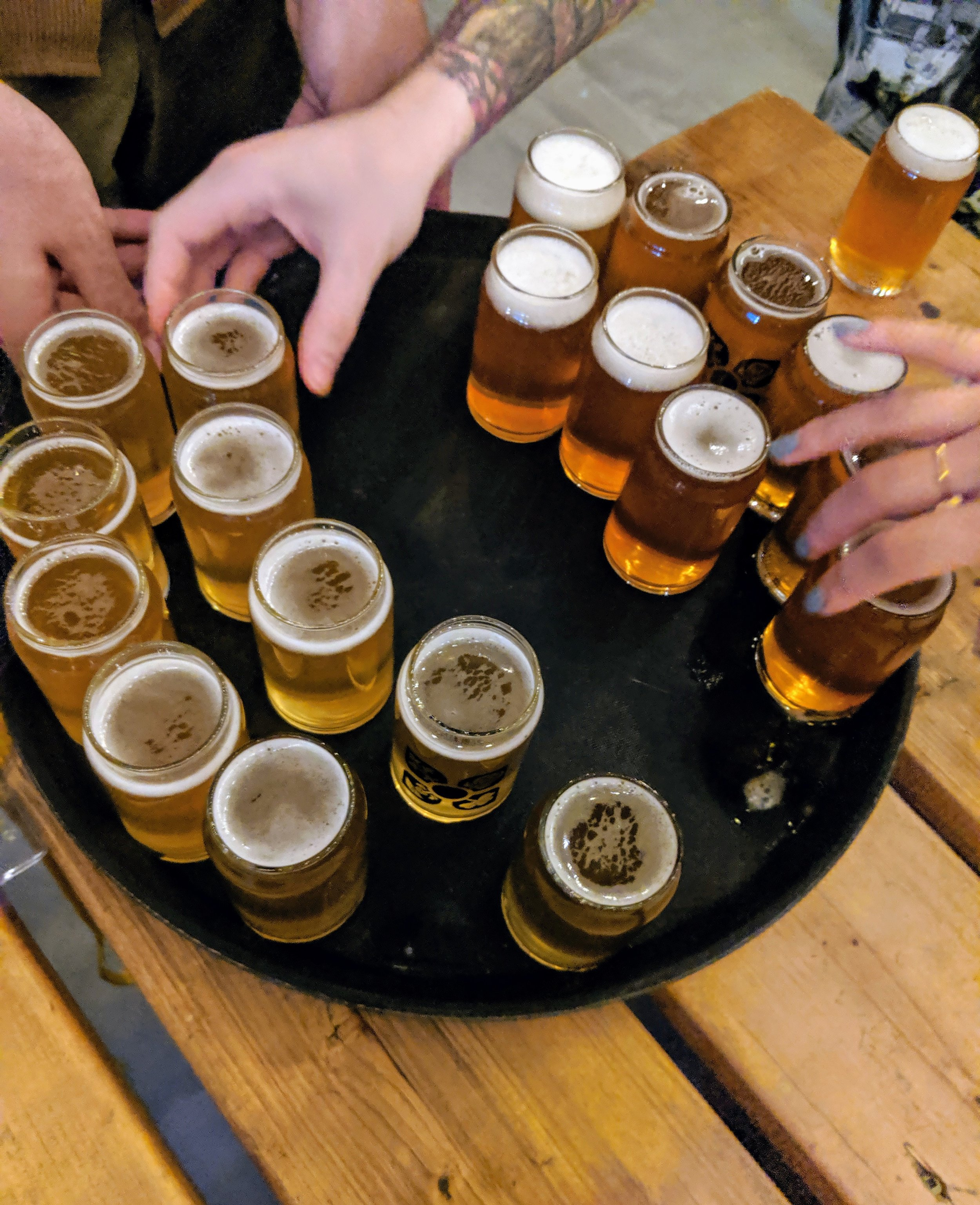 Beers at city brew tours. A guide of Montreal breweries