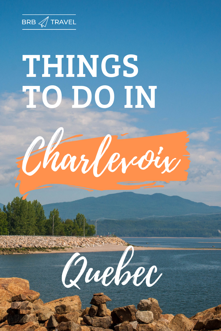 This is the only travel guide that you need to explore the Charlevoix region in Quebec. This beautiful region will put you under its spell with its natural beauty. The region is also a foodie paradise! Did you know that the road trip from Quebec to La Malbaie is in fact, one of Canada's most scenic drives? Read more about the region here!  #Charlevoix #Quebec #Canada #Foodie #Mountains