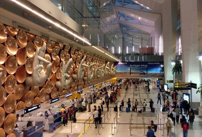 New Dehli airport