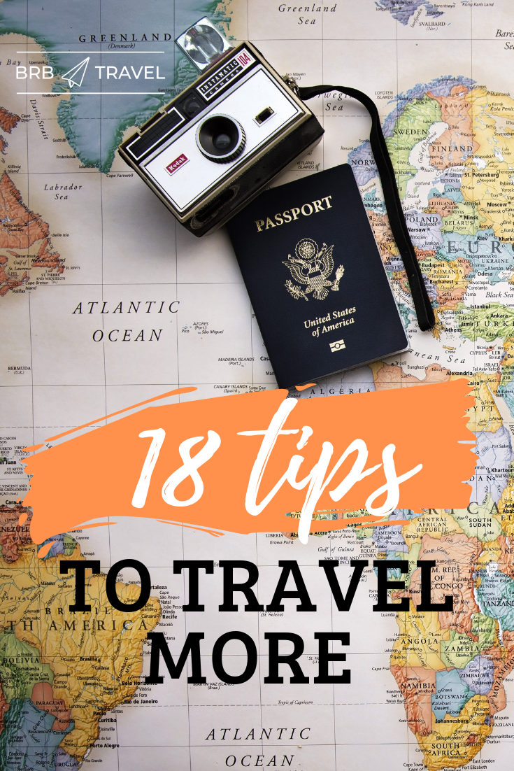18 tips on how to travel more (even if you have a full-time job). We givie all the tips and tricks that you need to take more vacations even if you are a 9 to 5er. Are you ready for your new adventure? Travel tips | Travel inspiration | Travel tips and trick | Travel hacks | Travel budget | travel cheap | travel money | Travel and work | How to travel #travel #traveltips #travelinspiration