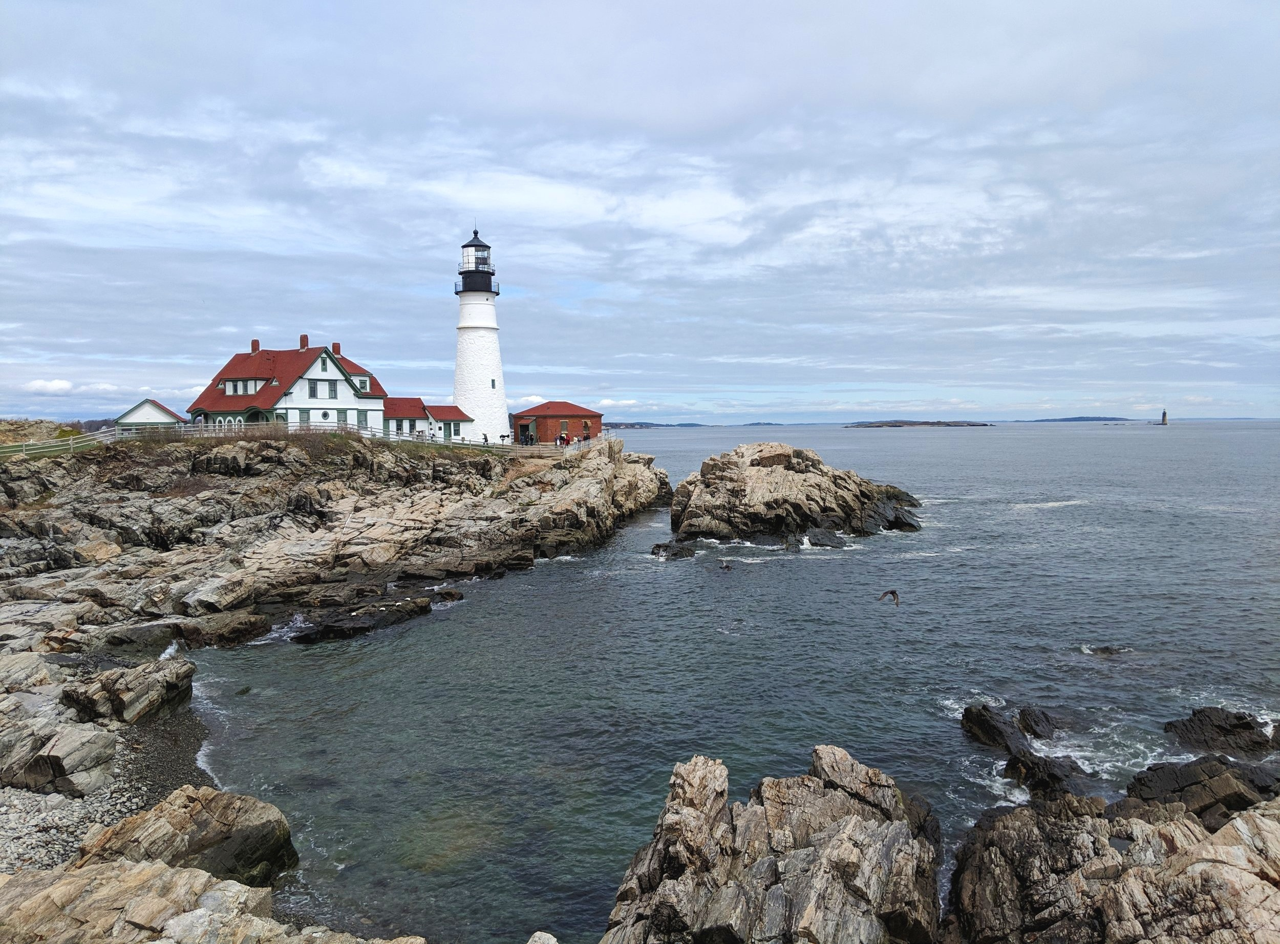 Portland Head Lighthouse - Trip from Montreal