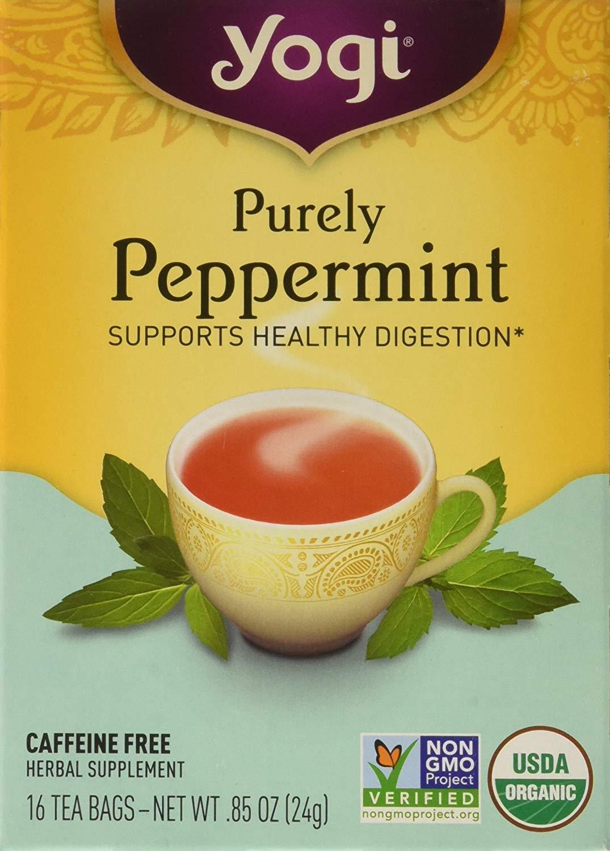 Peppermint Tea -