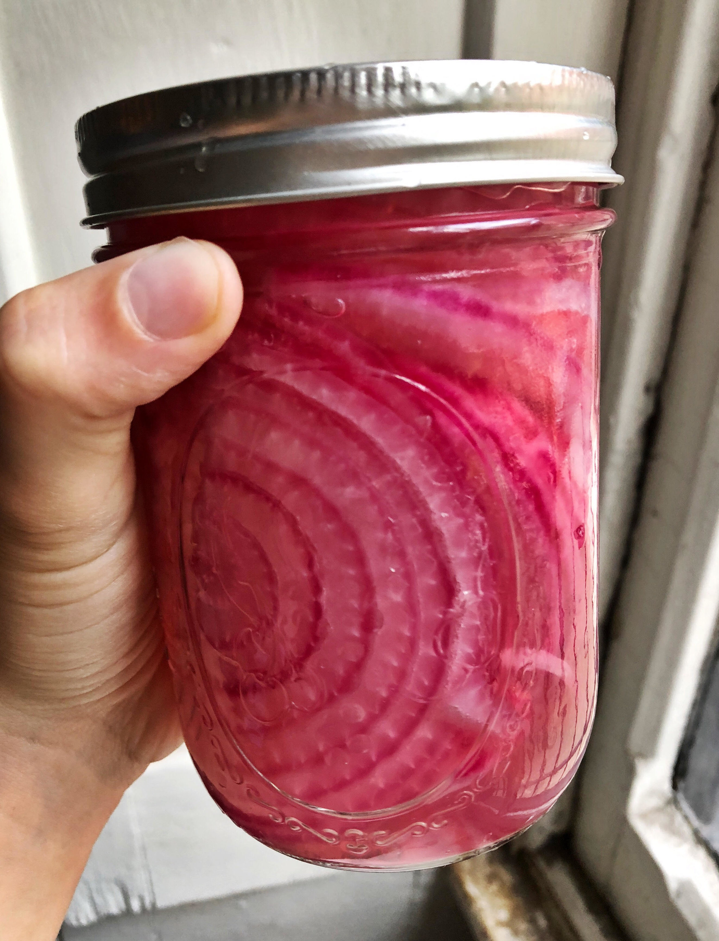 Easiest Pickled Red Onions