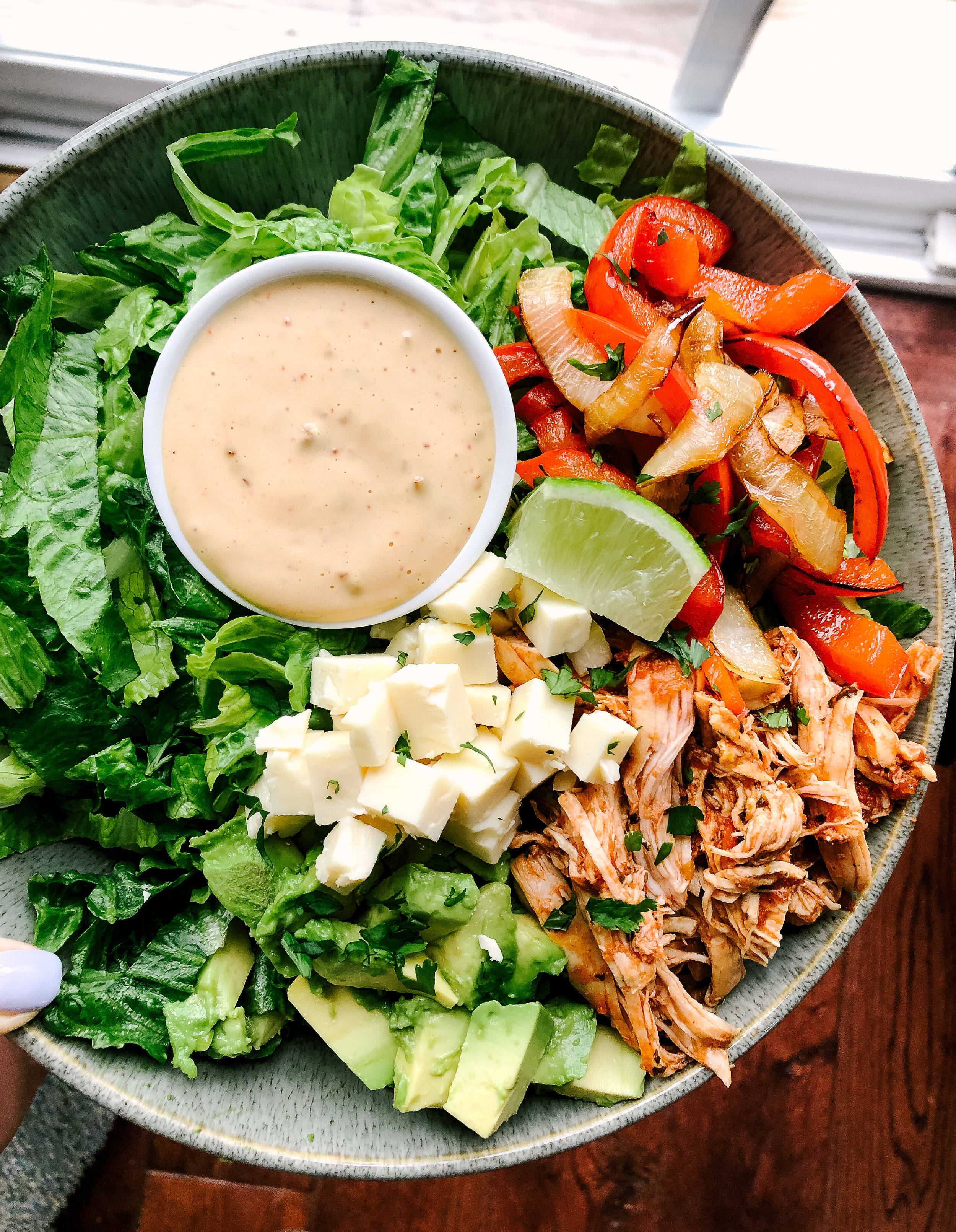 Chipotle ranch dressing is a delicious homemade whole30 and paleo approved dressing. This dressing is made in less than 20 minutes with simple ingredients.
