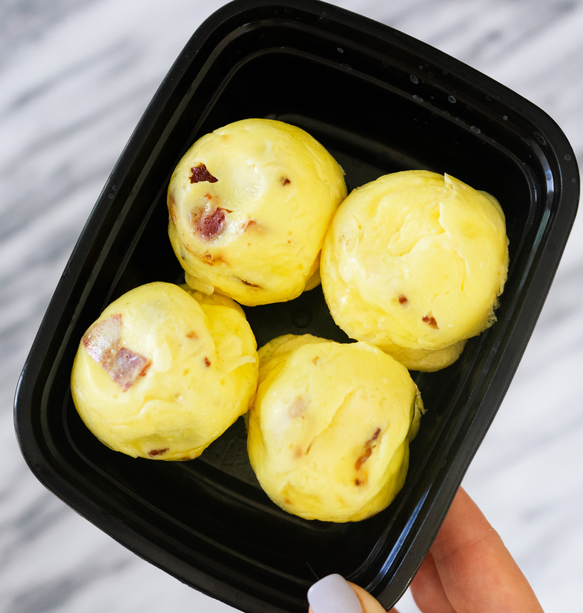 If you love the Starbucks sous vide egg bites you need to try making these copycat Starbucks eggs bites at home! These simple, delicious, and low carb egg bites can be easily made in the instant pot in less than 30 minutes.