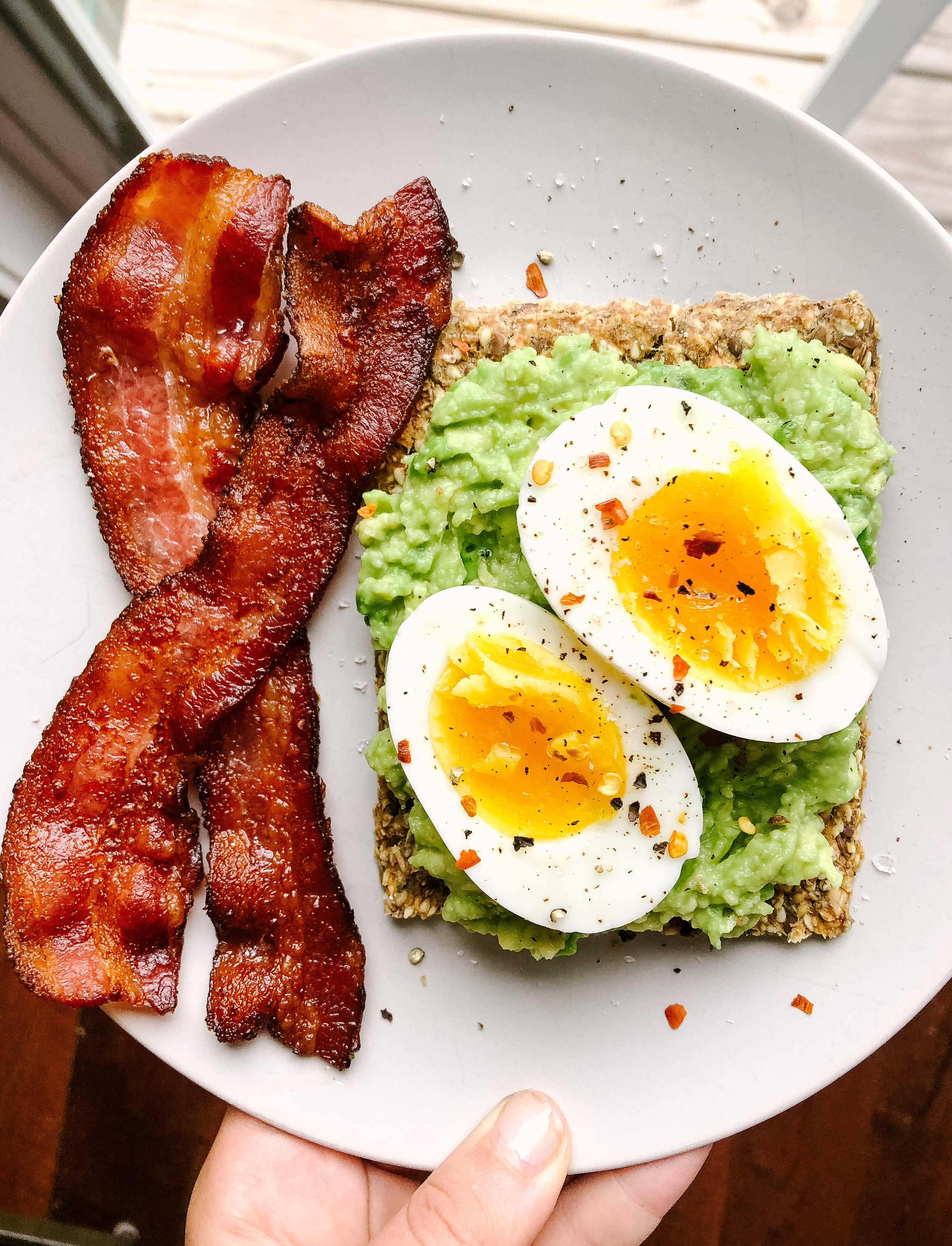 If I am going to eat bacon, I need it to be crispy bacon. I have found a method to make perfectly crispy bacon every single time. This works for all types of bacon and is perfect for meal prepping larger quantities.
