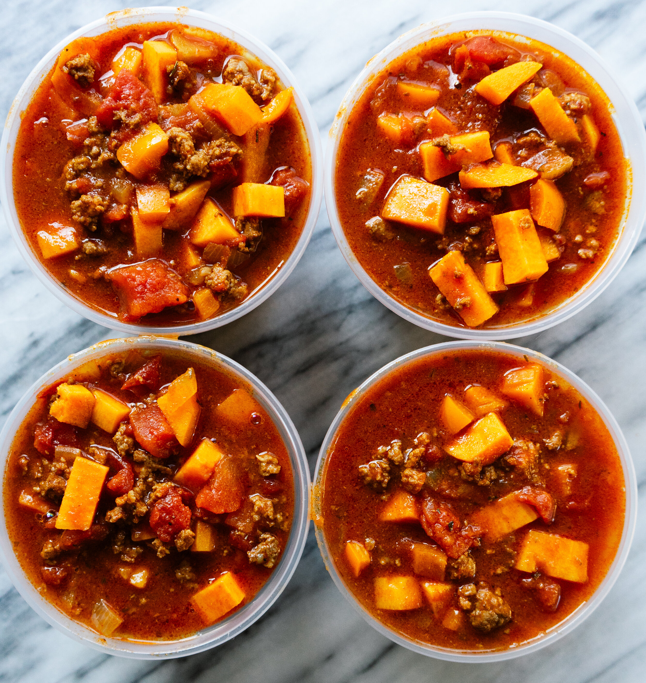 Chili season is my favorite. Get cozy with a bowl of this sweet potato paleo chili. This can be a stovetop chili or an instant pot chili recipe. This comforting and healthy paleo chili is also Whole30 compliant.