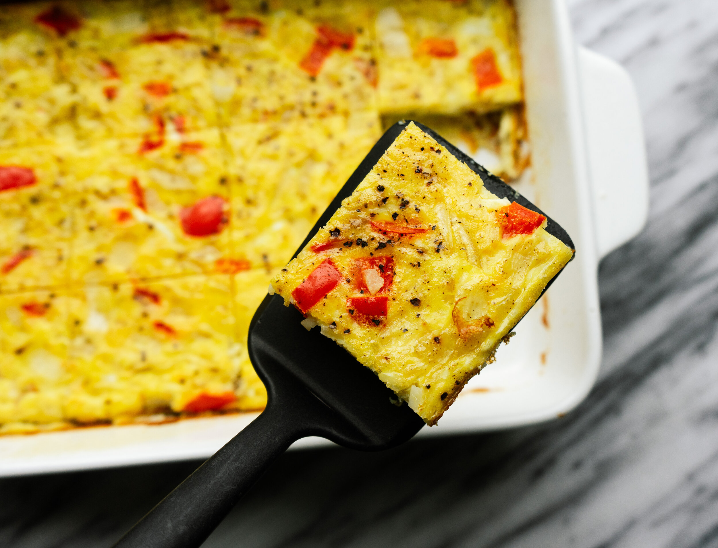 Whole30 Hash Brown Breakfast Casserole Mad About Food