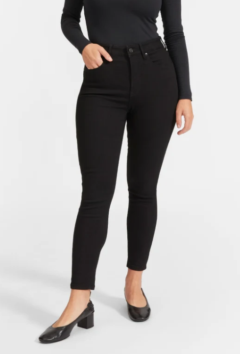 The Curvy Authentic Stretch High Rise Skinny Jean