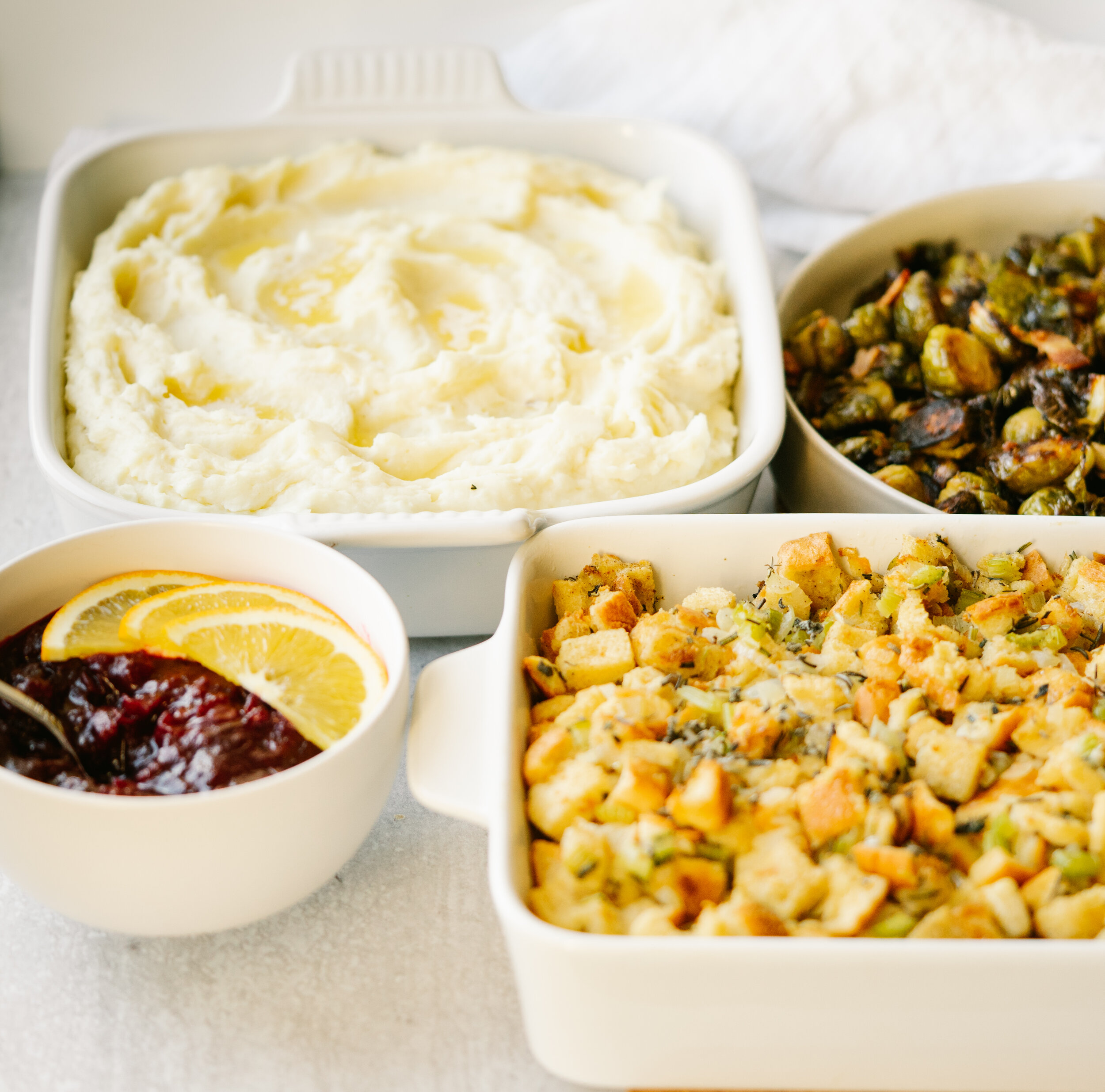 Simple Thanksgiving Dinner Menu Mad About Food