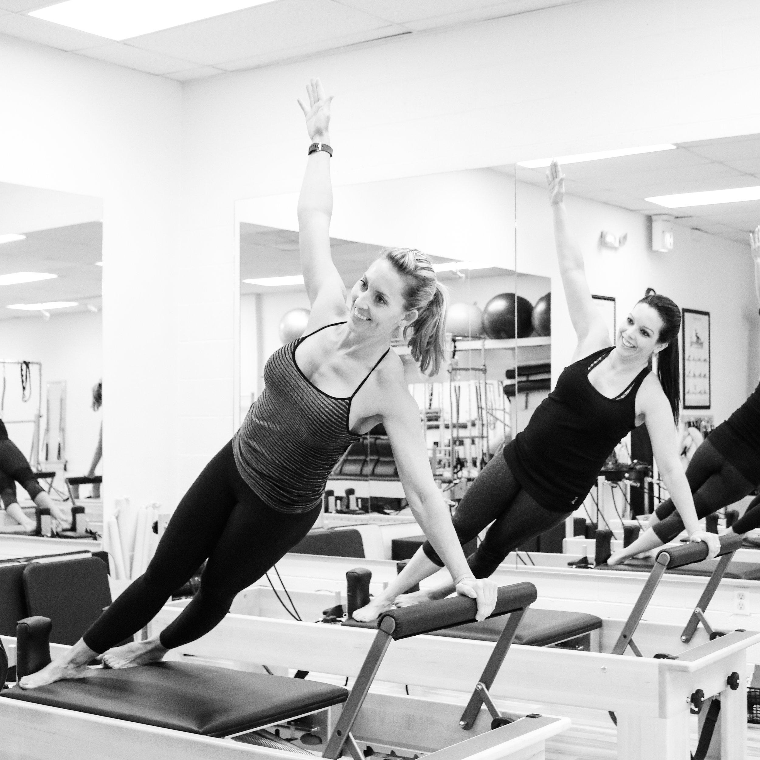 Duet Pilates for Two - 1 session - $50 ea Nikki / $50 ea Marie5 sessions - $225 ea Nikki / $225 ea Marie10 sessions - $400 ea Nikki / $400 ea Marie
