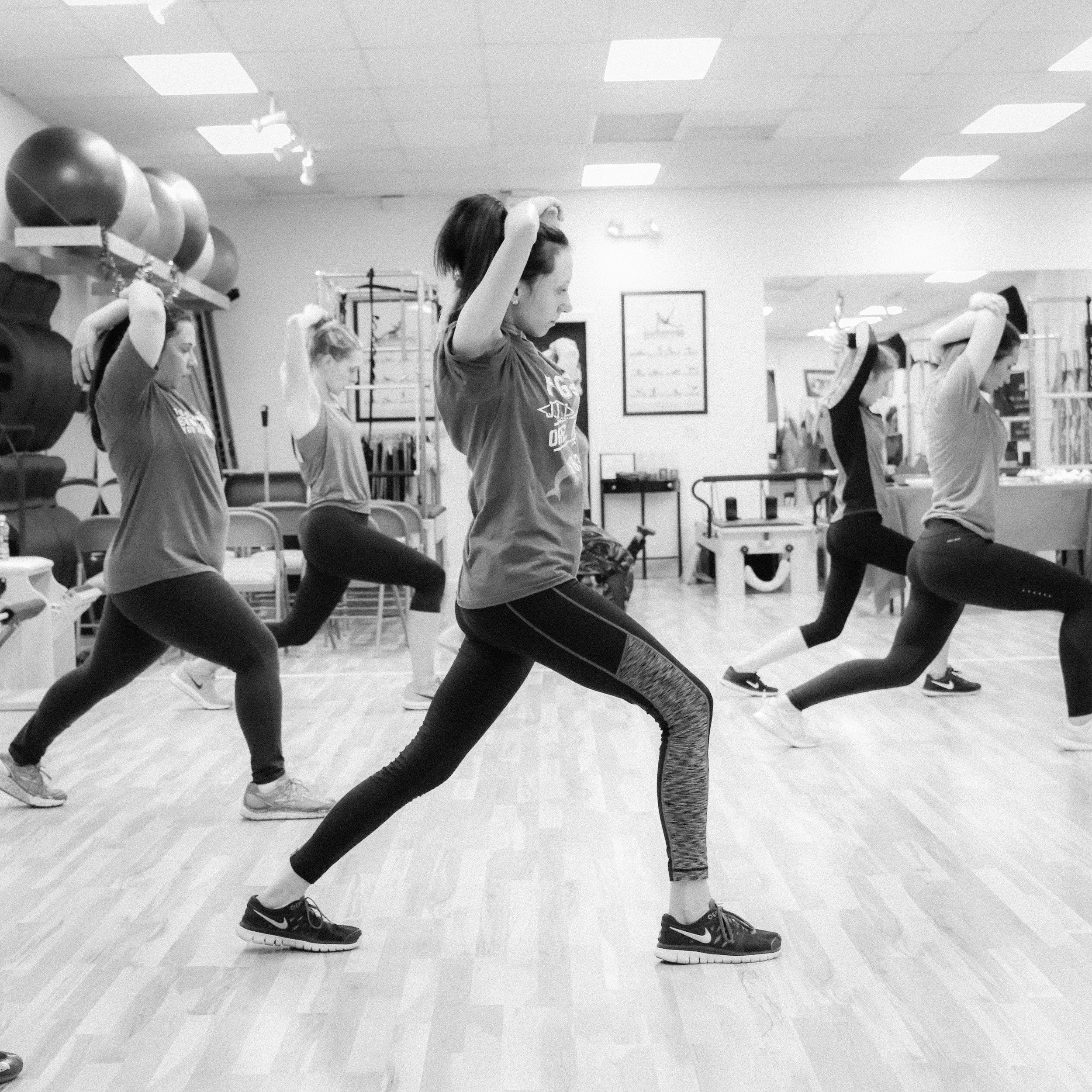Group Fitness Classes - Yoga, Barre, Pilates Mat, P90X Live!, TurboKick Live!, PiYo Live, & Core de Force Live!10 class pass - $10020 class pass - $160Drop In - $12