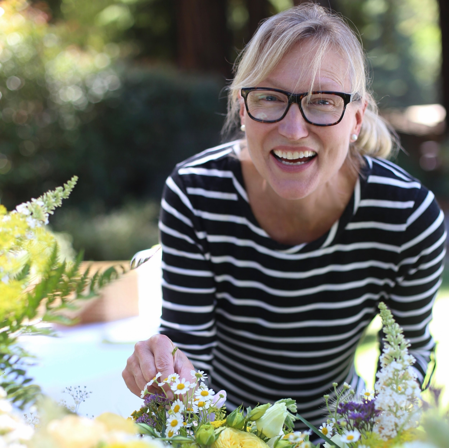 Floral designer and farmer Dyana Zweng A BIT OF EARTH FLOWERS, local and seasonal flowers