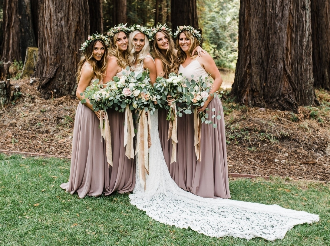 santa cruz mountain  redwoods wedding