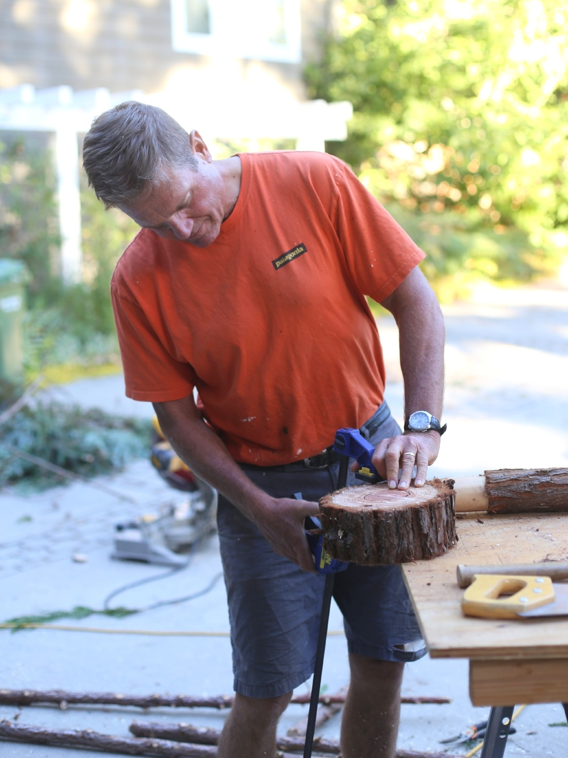 Dyana, her husband Dean, and their four children have made Scotts Valley home for 26 years. Dean often lends a hand with carpentry and large installations.