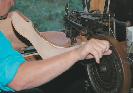 Sewing seat sides