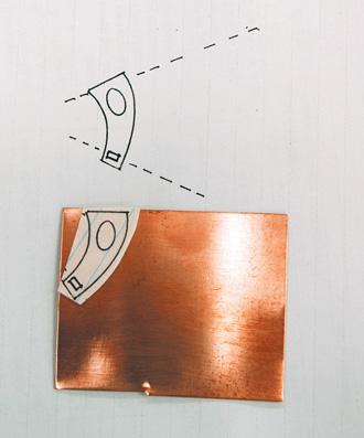 Toggle arm template