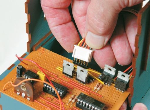 MOLEX pins provide an attachment
