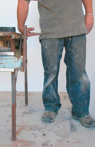 Forge at ideal wrist height