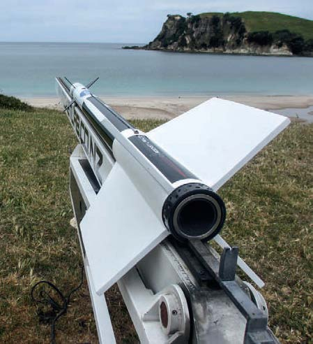 The VLM-powered Sidewinder missile...